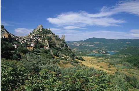 Регион Абруццо. Особенности природного ландшафта.