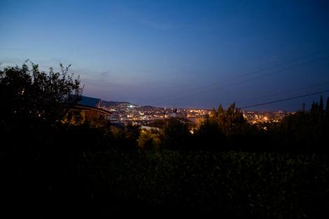 Вечерний вид на Пескару