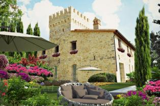 Ancient castle, completely renovated, Region Marche Italy