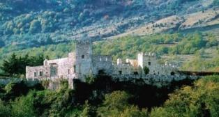 Old Castle, region Abruzzo Italy