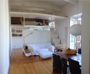 Attic apartment in the center of Rome