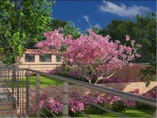 Квартира с садом в Риме, парк Аниене