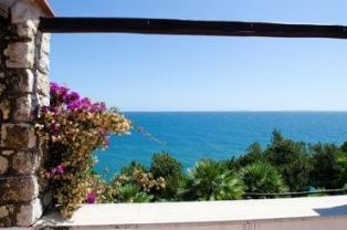 Villa con accesso privato al mare a San Felice Circeo, la provincia di Latina, Lazio, Italia