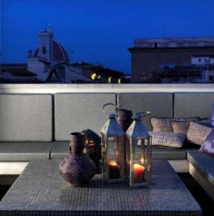 Великолепная квартира с террасой в центре Флоренции с видом на Домский собор