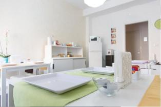 Camera singola con bagno privato in un bel B & B nel cuore di Pescara