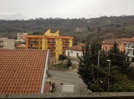 Панорамный вид с балкона