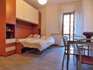 Сдается однокомнатная квартира в 150 м от моря в Монтесильвано