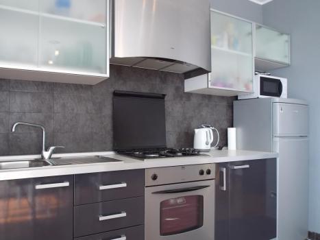 Кухня оборудованная бытовой техникой