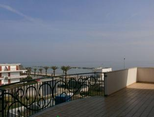 Luxury penthouse apartment on the 1 line of the sea in Martinsicuro, Italy